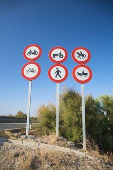 highway access signals