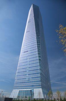 madrid skyscraper