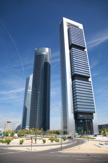 square in madrid business area