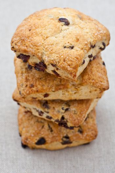 Homemade english scones