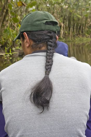 Male Hair style of the High Andes