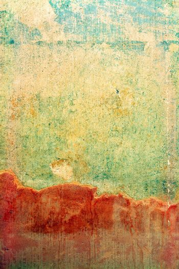 Distressed Wall Background