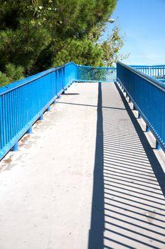 footbridge in madrid