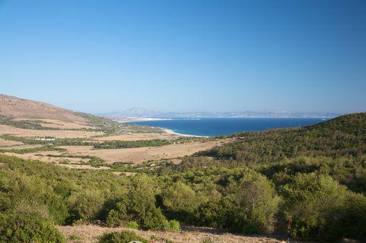tarifa coastline