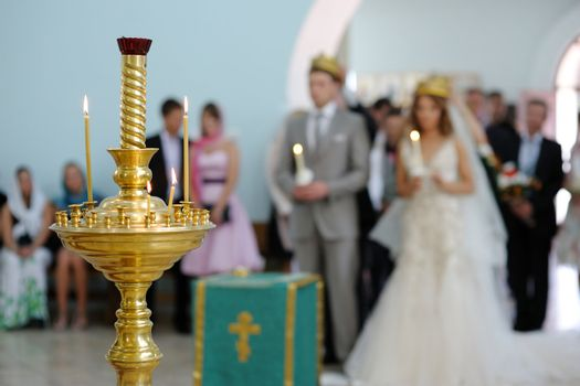 Orthodox wedding service