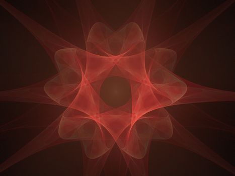 Red Moving Flower