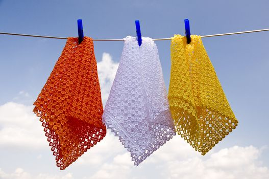 Colored laundry