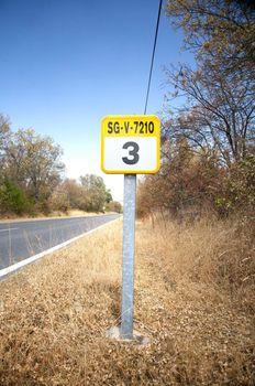 kilometre sign