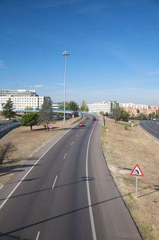madrid highway