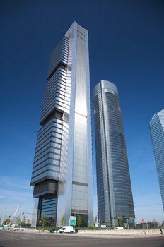 metal effect skyscraper