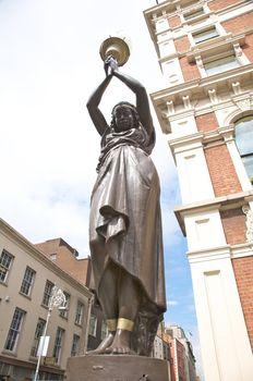 black woman sculpture