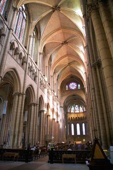 indoor church of avignon
