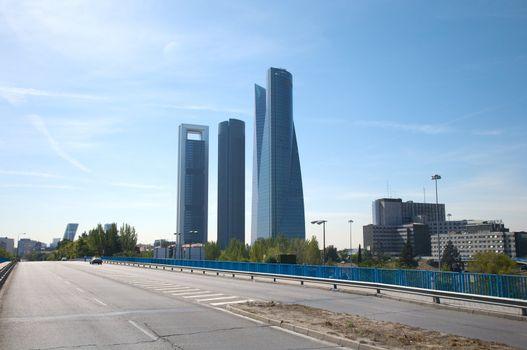 madrid new skyline