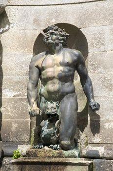 strong man sculpture