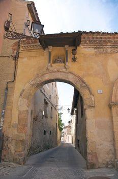 ancient arch in segovia