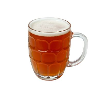 English Pint of golden ale