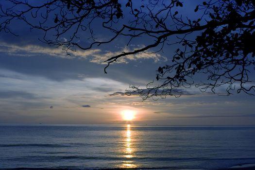 Sunset at Koh Chang, Thailand
