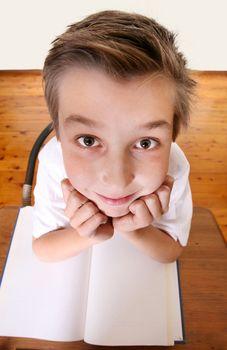 Quirky School boy