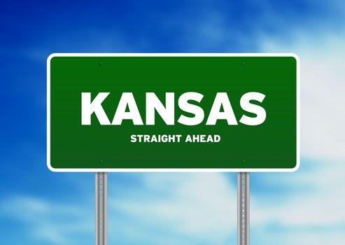 Kansas Highway Sign