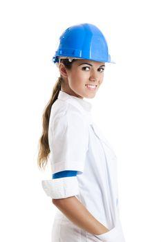 Female technician
