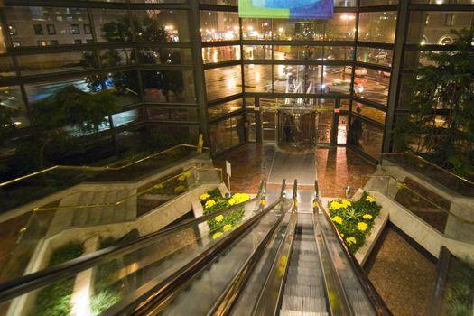 Mall in Boston, Massachusetts