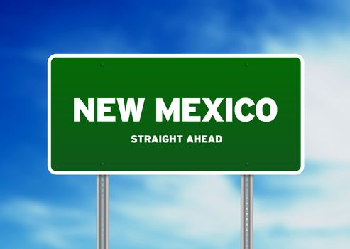 New Mexico Highway Sign