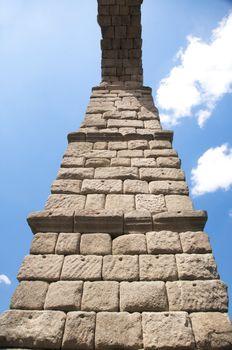 stone column of arch