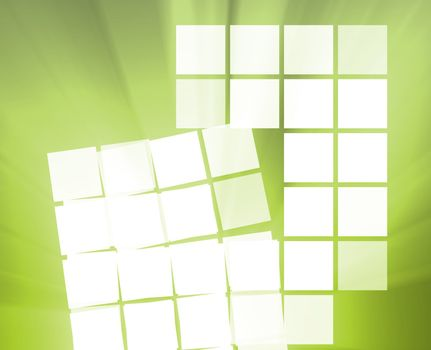 Abstract wallpaper illustration of geometric square shapes