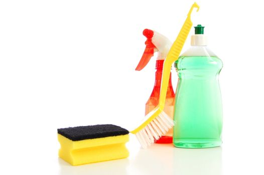 cleaning equipment for cleaning kitchen and bath and housework