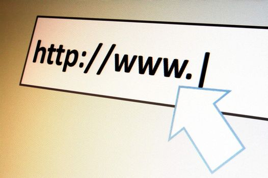 surfing with browser in the internet to a onlinebanking website