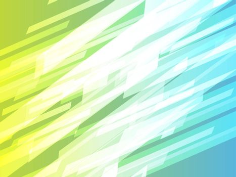 Abstract wallpaper illustration of geometric dynamic shapes