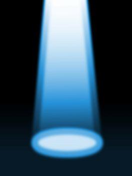 blank spotlight