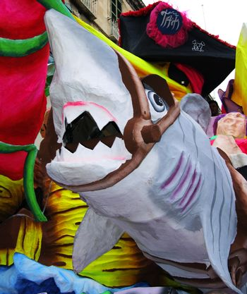 Carnival Series - Images depicting the mood, spirit, and festivities at the International Malta Carnival 2007 - Editorial Images