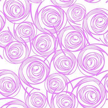 decorative seamless pattern