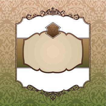 royal ornate vintage frame