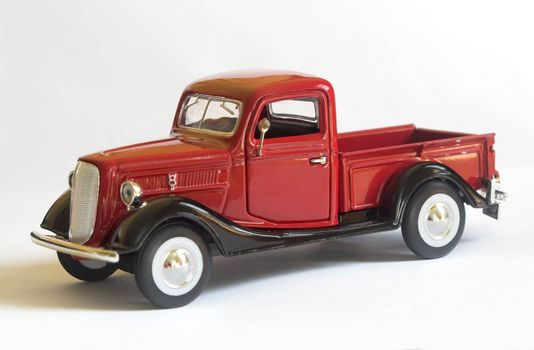 model of an old pickup truck