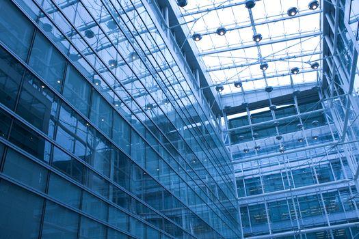 modern building inside at daytime