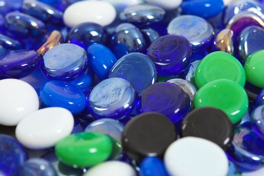 Scattering glass stones