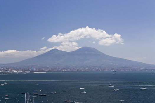 Vesuvian Volcano