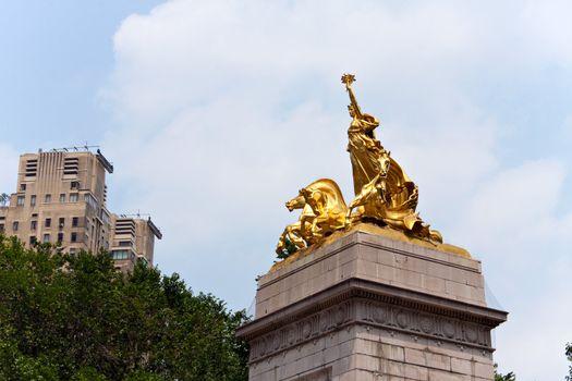 Central Park Entrance