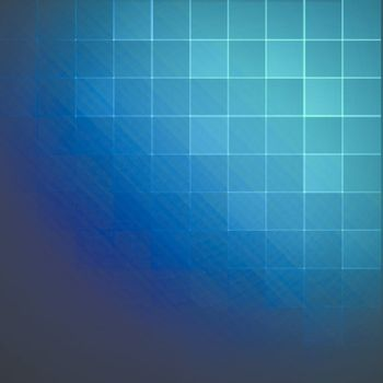 Colorful Squares Abstract Vector Background