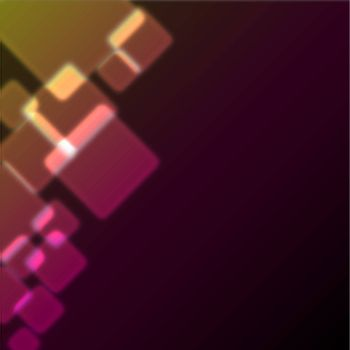 Abstract background with bokeh effect. Vector. EPS 10 vector file included