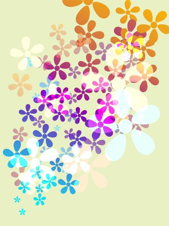 colorful background elements EPS 10 vector file included