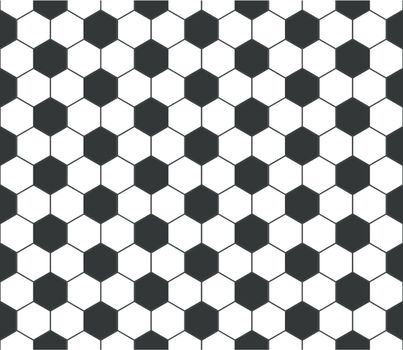 Seamless football pattern, vector  EPS 10 vector file included