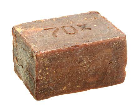 Single bar of obsolete soap