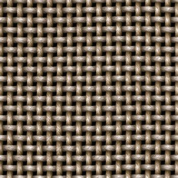 A knitted cloth or burlap texture that tiles seamlessly as a pattern.
