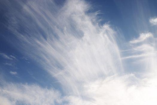 beauty fleecy cloud