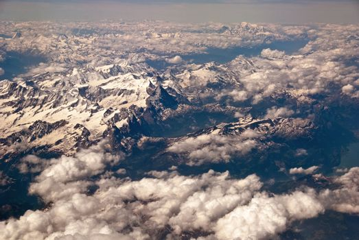 Dolomites from the Aircraft