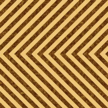 Brown grungy hazard stripes texture that tiles seamlessly as a pattern in any direction.