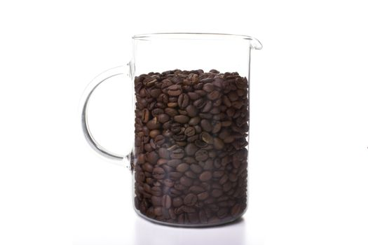 Coffee in Glass Pitcher